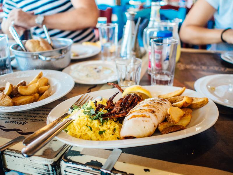 plat de menjar a un restaurant