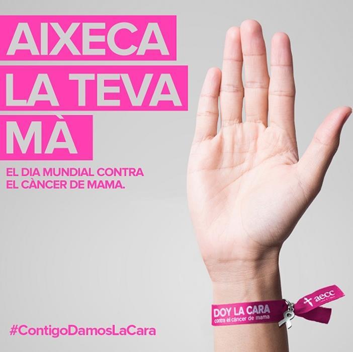 Pulsera AECC contra càncer mama