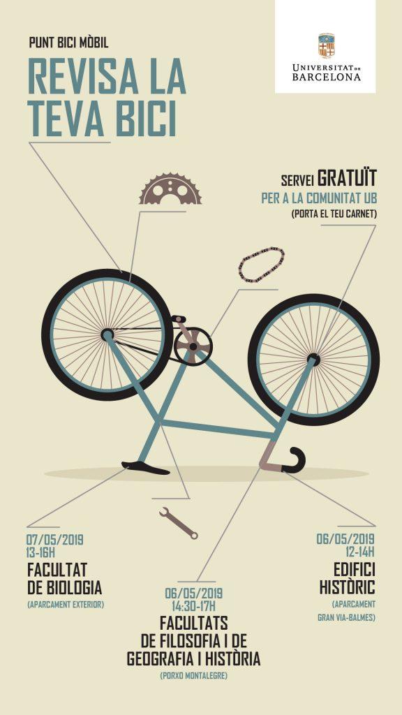 Cartell Punt Bici Mòbil maig 2019