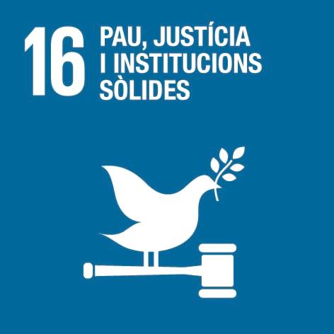 ODS 16: Pau, justícia i institucions sòlides