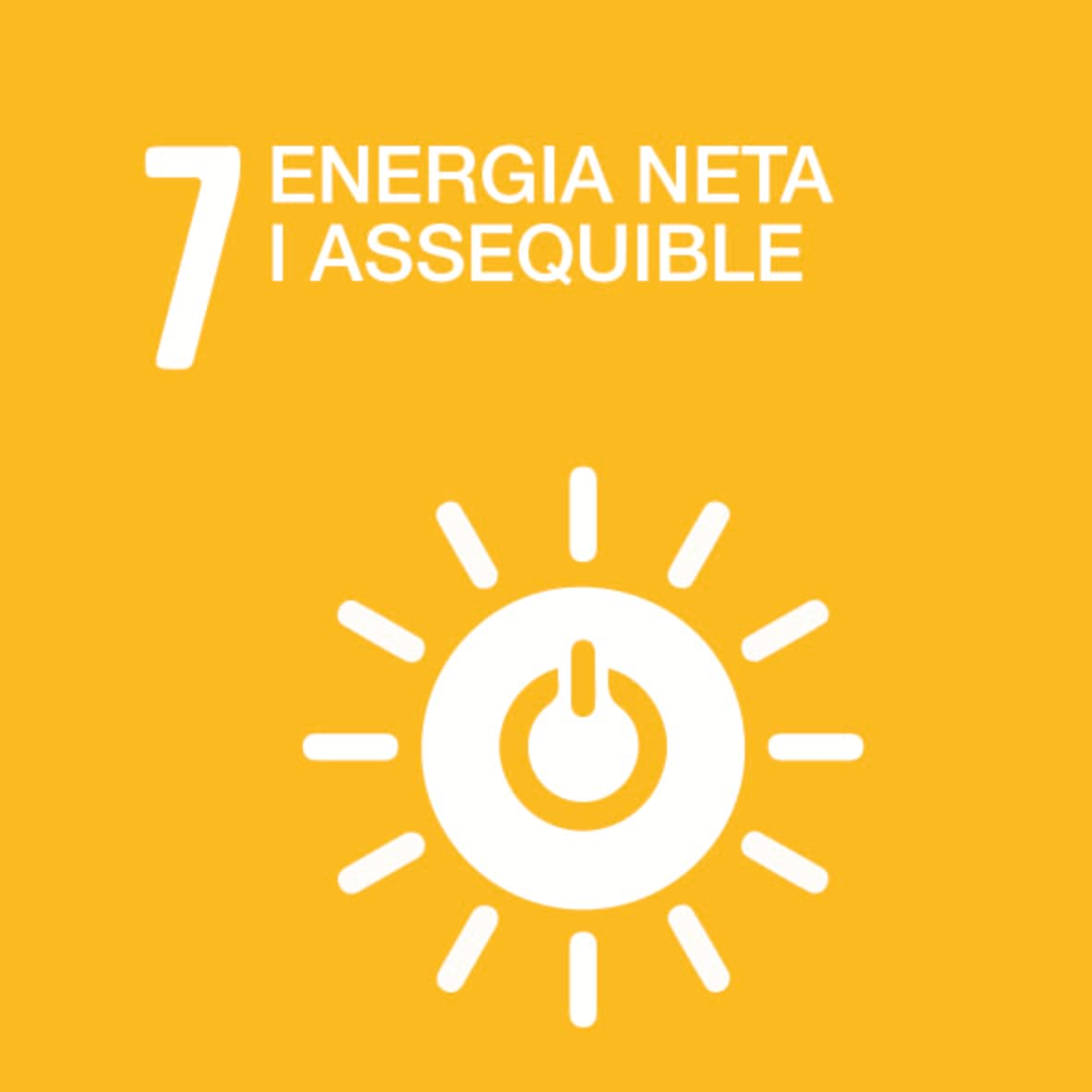 ODS 7: Energia assequible i no contaminant
