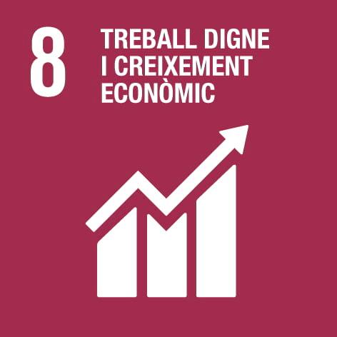 ODS 8: Treball digne i creixement econòmic