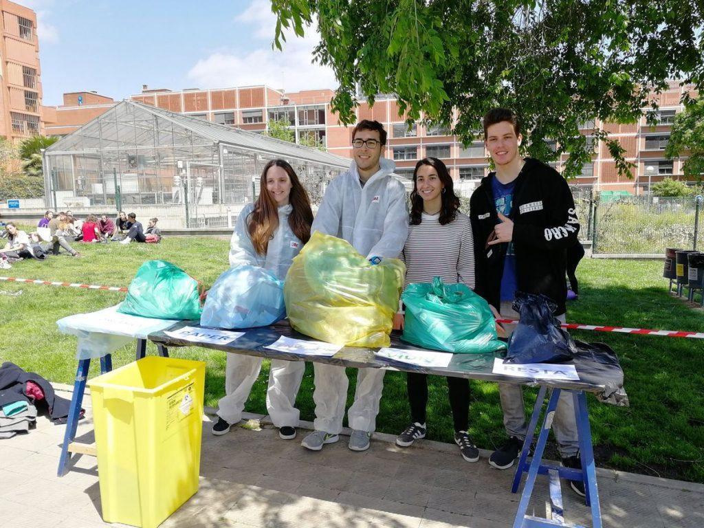 Bosses de la caracterització de residus de la Facultat de Biologia