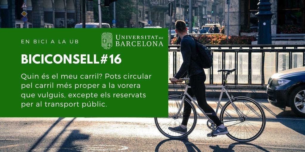 Quin és el meu carril? Pots circular pel carril més proper a la vorera que vulguis, excepte els reservats per al transport públic.