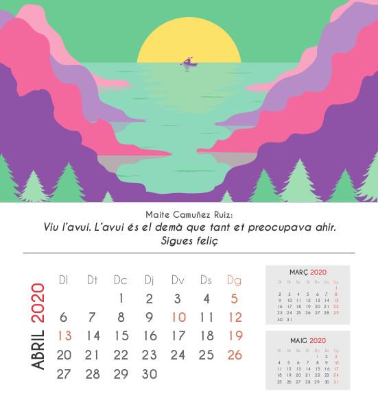 Frases calendari: abril