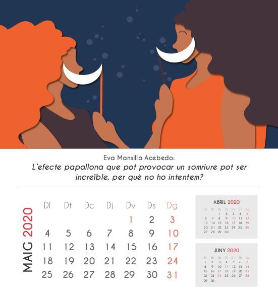 Frases calendari: maig