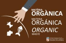 Paperera de recollida selectiva. Model estàndard. Fracció materia orgànica