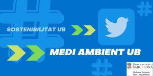 Canvi de nom compte Twitter Medi Ambient UB