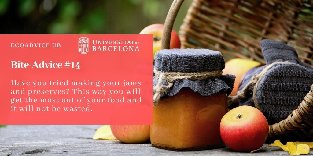 Have you tried making your jams and preserves? This way you will get the most out of your food and it will not be wasted.