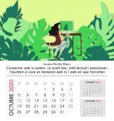 Calendari del mes d'octubre