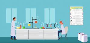 Captura de pantalla del video del procediment de gestió de residus especials de laboratori