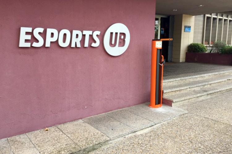 Punt Bici a Sports UB