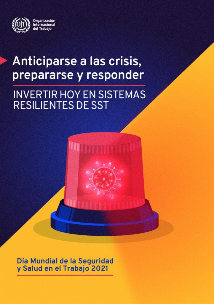 Póster del día mundial de la seguridad y la salud en el trabajo 2021