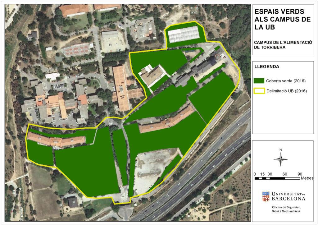 Espais verds campus Torribera