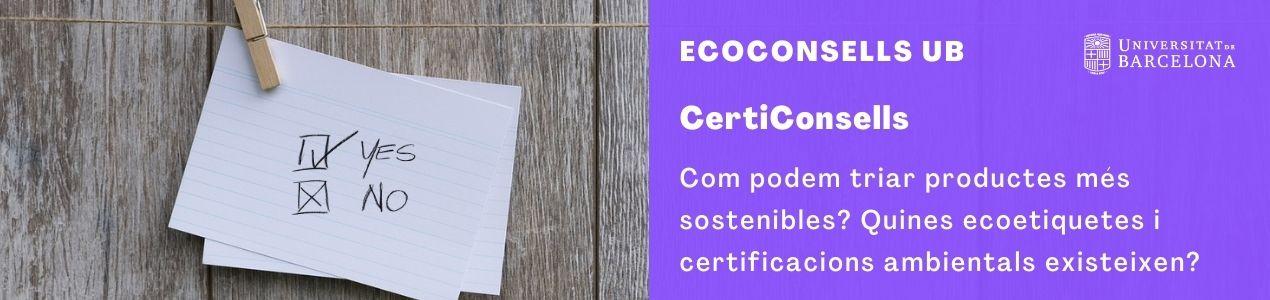 Ecoconsells Certiconsells capçalera