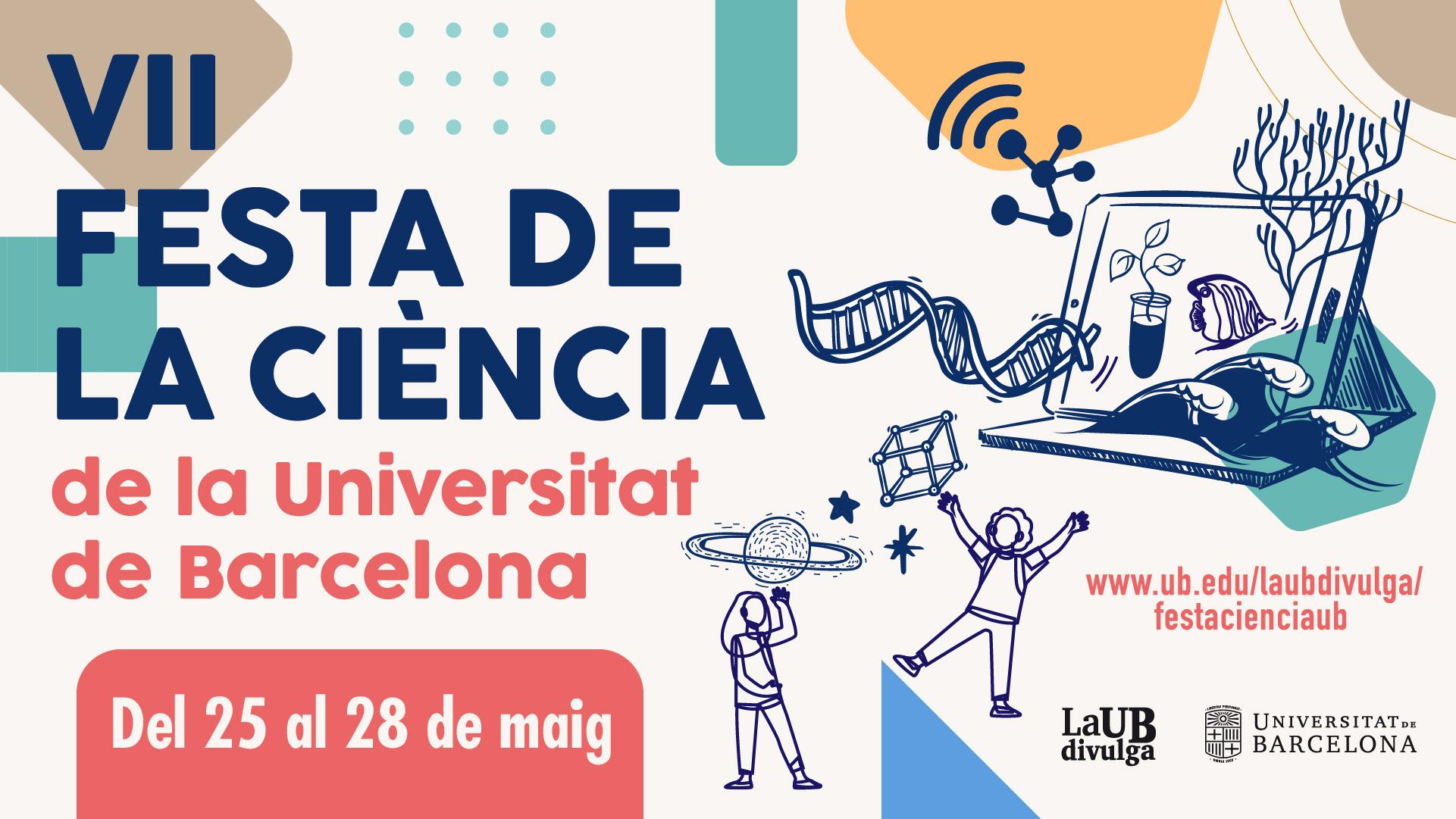 Cartell de la Festa de la Ciència 2021