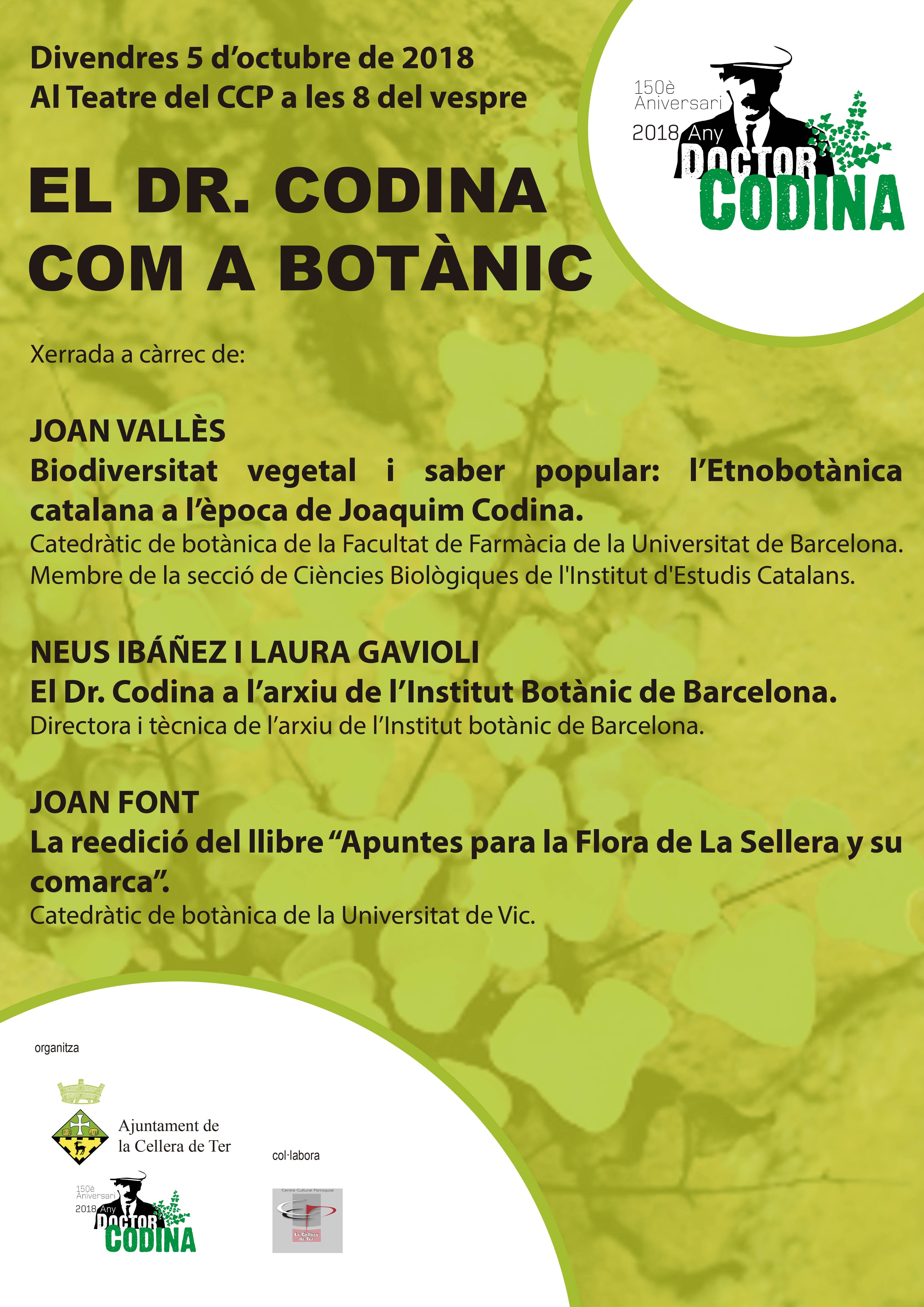 cartell xerrada botànica
