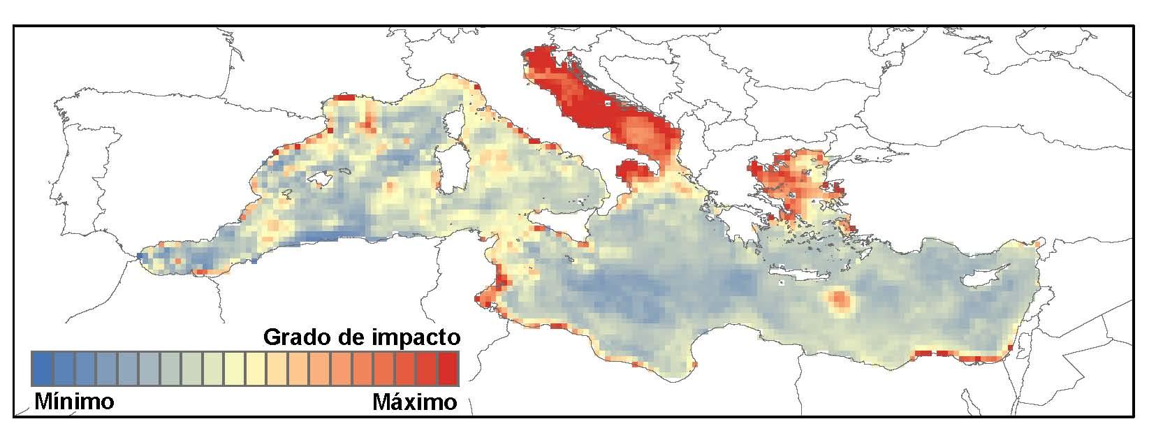 El mar Adriàtic, el mar Egeu, la costa africana o el mar de l'àrea catalana es troben entre les zones més afectades