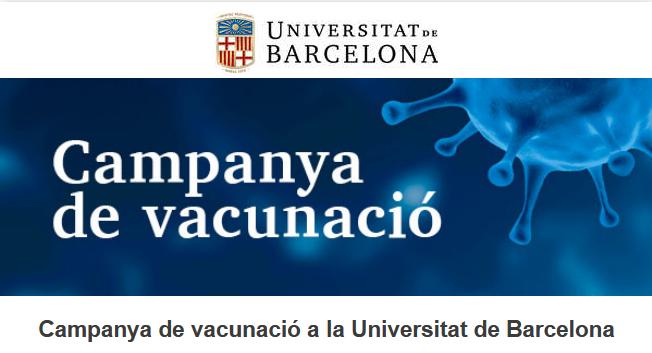 campanya de vacunació a la UB