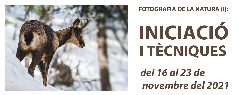Curs de Fotografia de la Natura (I): Iniciació - novembre de 2021