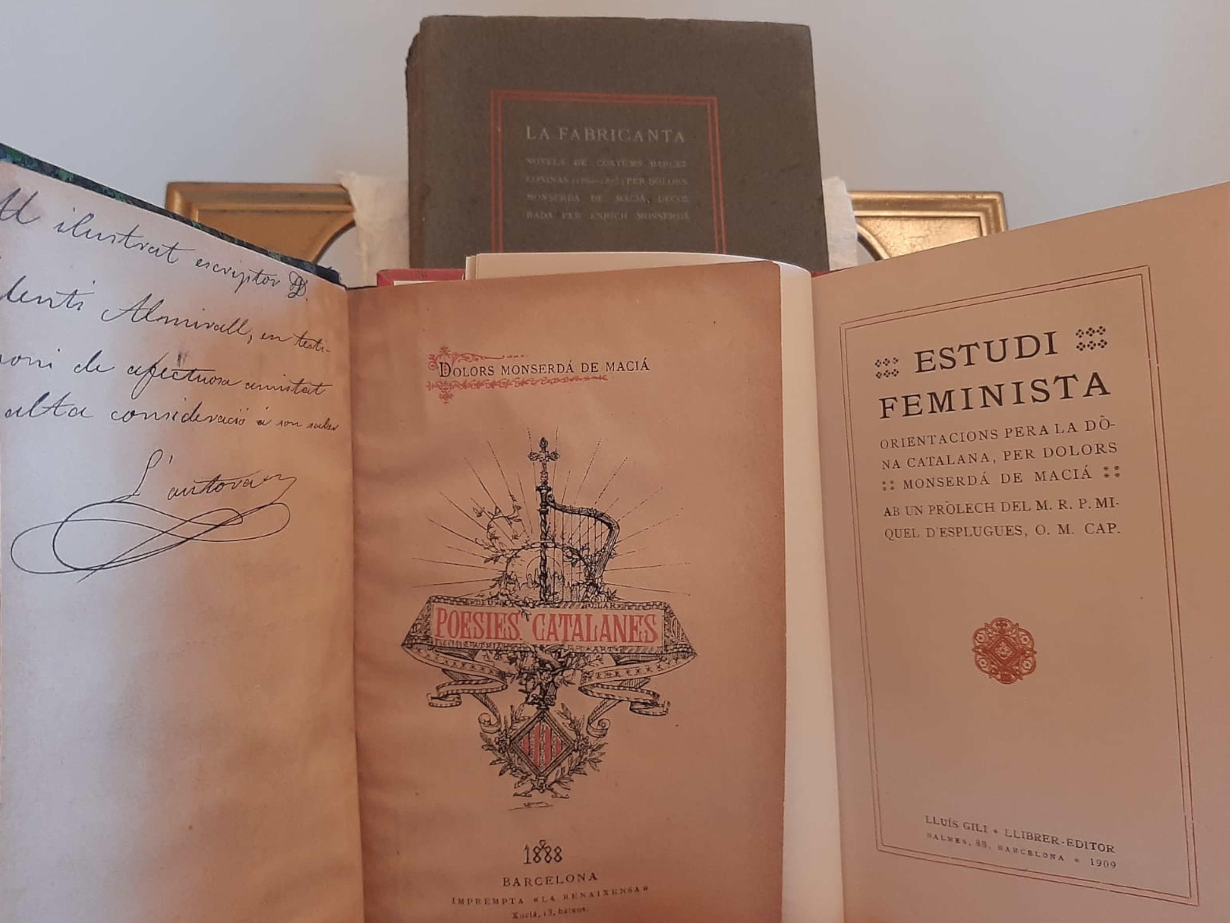 llibres escrits per Dolors Monserdà