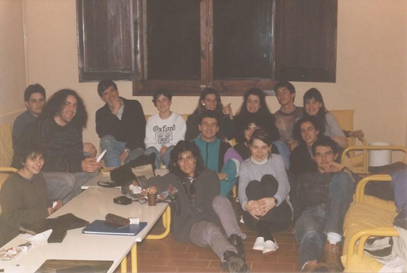 Març de 1993, pràctiques a Montesquiu