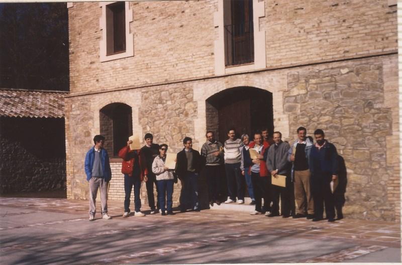 1989 El grup a Montesquiu