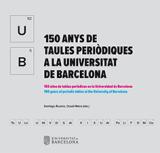 """Publicació: """"50 anys de taules periòdiques a la Universitat de Barcelona"""""""