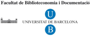 Facultat de Biblioteconomia i Documentació. Universitat de Barcelona