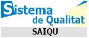 Enllaç al Sistema d'Assegurament de la Qualitat UB (SAIQU)