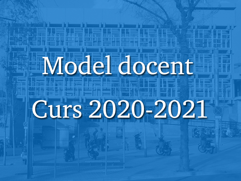 Model docent 2020-2021