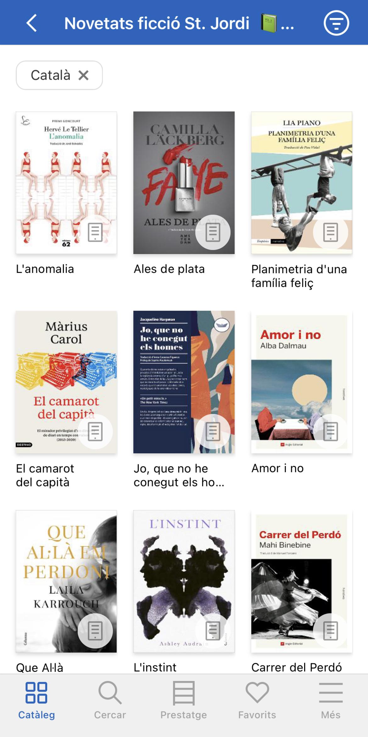 Les recomanacions de Sant Jordi