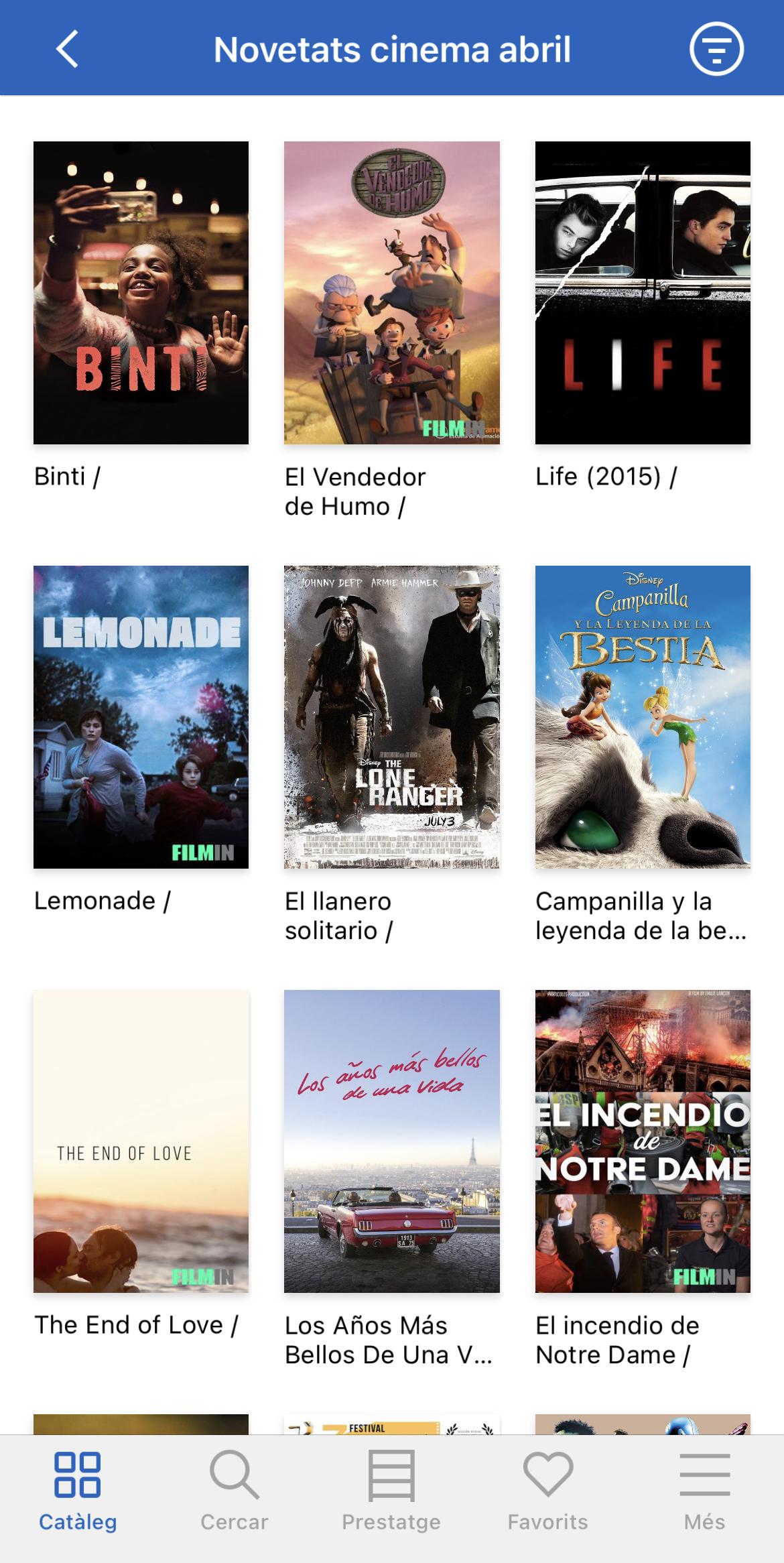 Les pel·lícules
