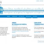 Pàgina inicial del portal de terminologia UBTERM