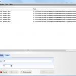 Inserció de caràcters amb el Fast File Renamer