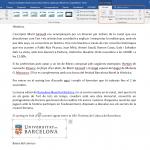 Incrustació del fragment seleccionat i opcions d'edició