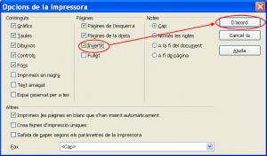 Ordre d'impressió invers en l'OpenOffice.org