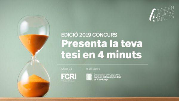 Presenta la teva tesi en pocs minuts (fins al 10 de març)