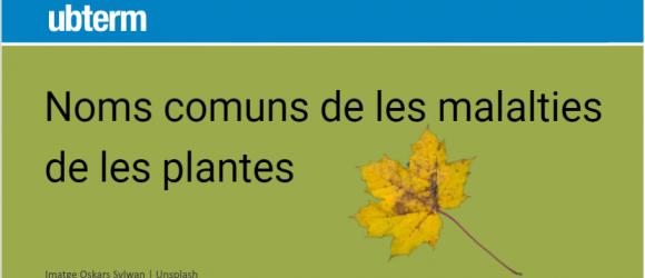 Noms comuns de les malalties de les plantes