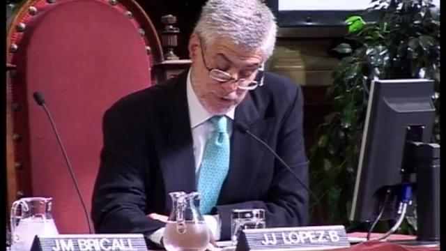 Acte d'homenatge al Dr. Josep M. Bricall