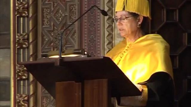 Doctora Honoris Causa a Elaine Sarkin Jaffe