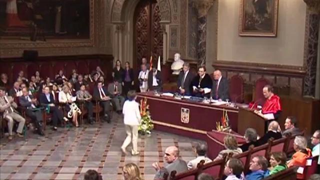 Acte d'inauguració del curs 2008-2009 del Sistema Universitari Català