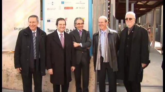 Visita de l'alcalde de Barcelona i els rectors de la UB i UPC al Barcelona Knowledge Campus.
