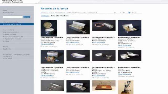 Inauguració del Museu Virtual de la Universitat de Barcelona