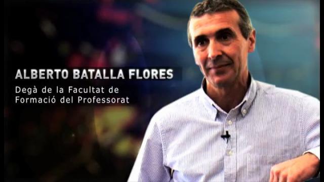 Albert Batalla Flores, Degà de la Facultat de Formació del Professorat