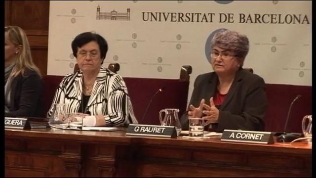 Presentació del Màster de Docència Universitària per a Professorat Novell. Jornades sobre Política ...<br/>Universitària. 14 d'octubre