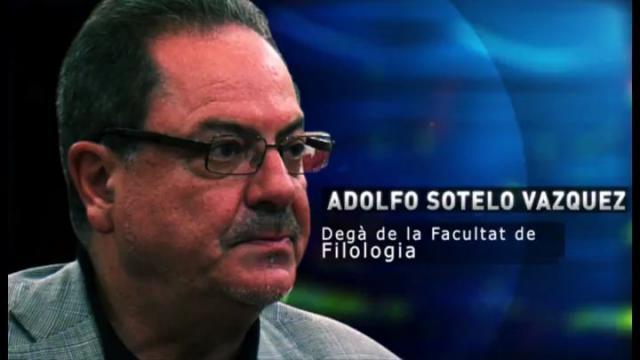Adolfo Sotelo Vázquez, Degà de la Facultat de Filologia