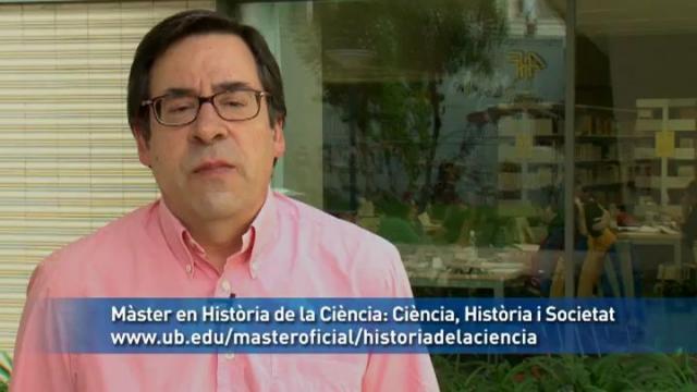 Màster en Història de la Ciència: Ciència, Història i Societat