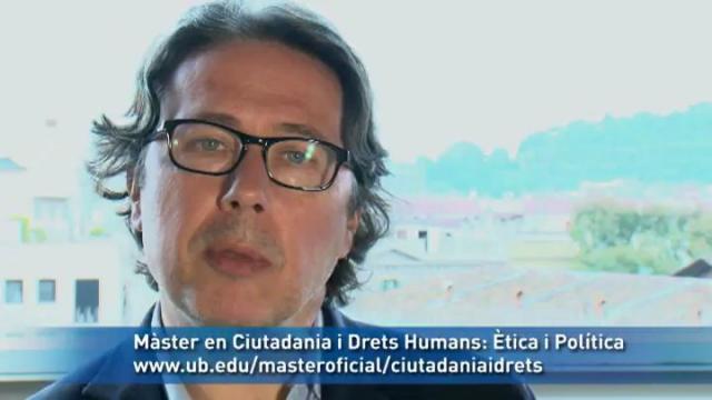 Màster en Ciutadania i Drets Humans: Ètica i Política