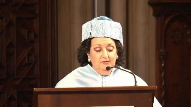 Solemne investidura com a Doctora Honoris Causa de la senyora Montserrat Caballé